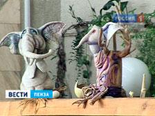 Большая сцена Пензенского кукольного театра